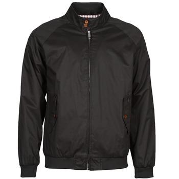 Vestes Ben Sherman COTTON HARRINGTON Noir 350x350