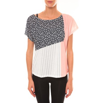 T-shirts manches courtes Coquelicot Top 15403/001 blanc