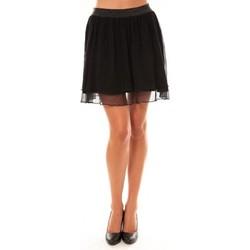 Vêtements Femme Jupes Coquelicot Jupe courte 15107/099 noir Noir