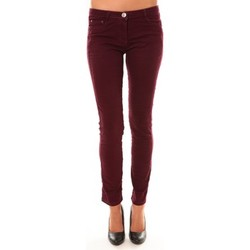 Vêtements Femme Pantalons 5 poches Dress Code Pantalon C601 bordeaux Rouge