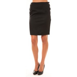 Vêtements Femme Jupes Dress Code Jupe D1452 noir Noir