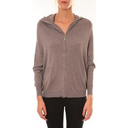 Vêtements Femme Vestes Sweet Company Sweat Company Sweat zippé L1039 marron Marron