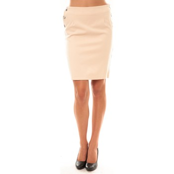 Vêtements Femme Jupes Dress Code Jupe D1452 beige Beige