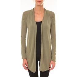 Vêtements Femme Gilets / Cardigans Vision De Reve Vision de Rêve Cardigan 8677 vert Vert