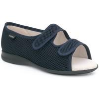 Chaussures Femme Chaussons Calzamedi ouverte sandale orthopédique BLEU