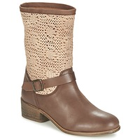 Chaussures Femme Boots Betty London CASTAGNO Marron
