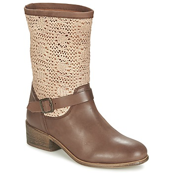 90636dac41c8e Chaussures Femme Boots Betty London CASTAGNO Marron