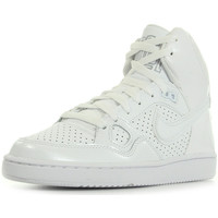 Chaussures Femme Baskets montantes Nike Wmns Son Of Force Mid blanc