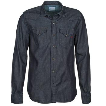 Vêtements Homme Chemises manches longues Replay M4860N Gris