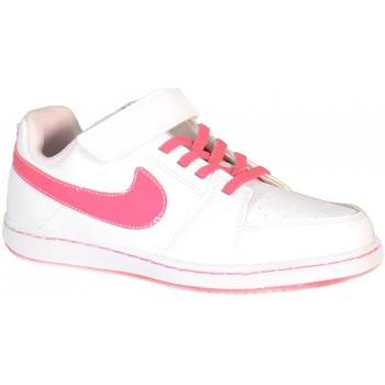 Chaussures enfant Nike Backboard 2 (Psv) Scarpe Sportive Bambina Bianche Pelle Strappi