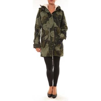 Vêtements Femme Parkas Desigual Doudoune Drucilla 57E29X7 kaki Vert