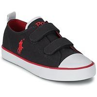 Chaussures Enfant Baskets basses Polo Ralph Lauren WHEREHAM LOW EZ Bleu