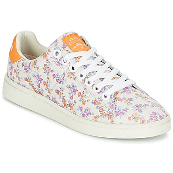 Chaussures Femme Baskets basses Pepe jeans CLUB FLOWERS Blanc