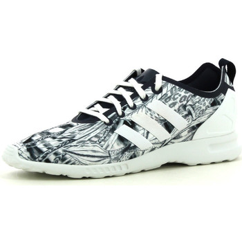 Chaussures Femme Baskets basses adidas Originals ZX Flux smooth Gris