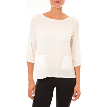 T-shirt La Vitrine De La Mode By La Vitrine Top K598 blanc
