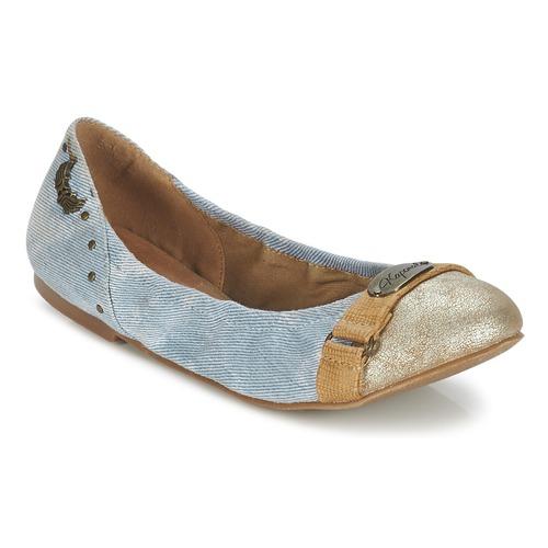 Chaussures Femme Ballerines / babies Kaporal DORY Bleu denim