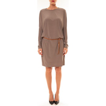 Vêtements Femme Robes courtes Dress Code Robe 53021 taupe Marron