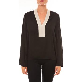 Vêtements Femme Tops / Blouses Carla Conti Blouse Z089 noir Noir