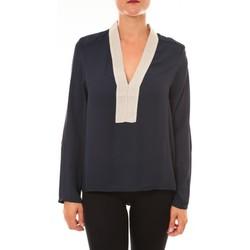 Vêtements Femme Tops / Blouses Carla Conti Blouse Z089 marine Bleu