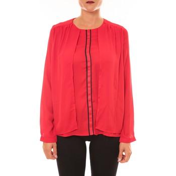 Vêtements Femme Tops / Blouses Carla Conti Blouse H12 rouge Rouge