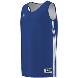 Vêtements Homme T-shirts manches courtes adidas Performance Maillot Team Reversible Royal / blanc