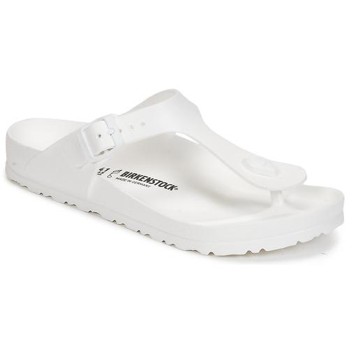 Chaussures Femme Tongs Birkenstock GIZEH EVA Blanc