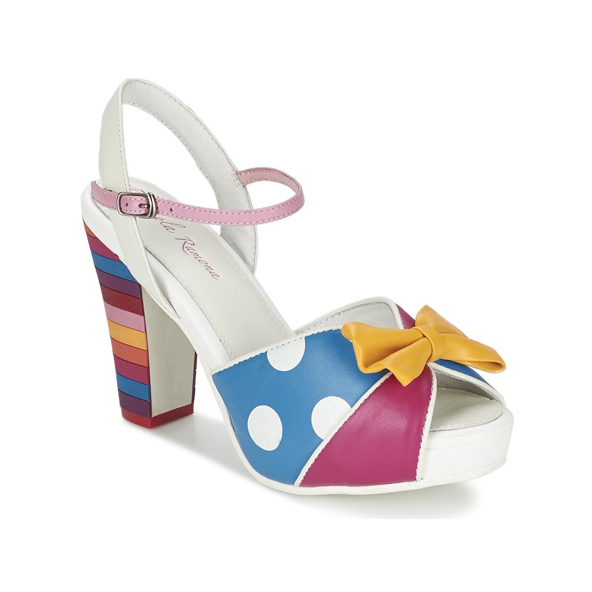 Sandale Lola Ramona ANGIE P Multicolore