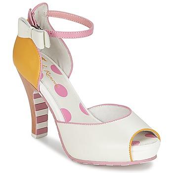 Sandale Lola Ramona ANGIE Rose / Blanc 350x350