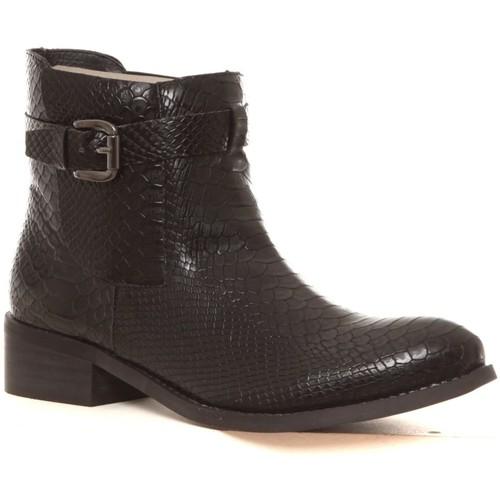 Prix Réduit Chaussures ihjdfh465DHU Cassis Côte d'Azur Bottines Hiro noir Noir