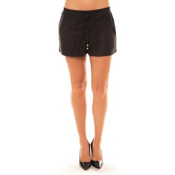Vêtements Femme Shorts / Bermudas Carla Conti Short Y536 noir Noir