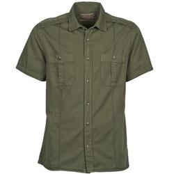 Vêtements Homme Chemises manches courtes Chevignon C MILITARY TWIL Vert