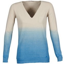 Vêtements Femme Pulls Gas DESHI Beige / Bleu