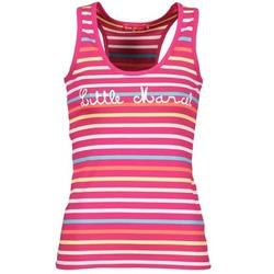 Vêtements Femme Débardeurs / T-shirts sans manche Little Marcel NINA Rose / Multicolore