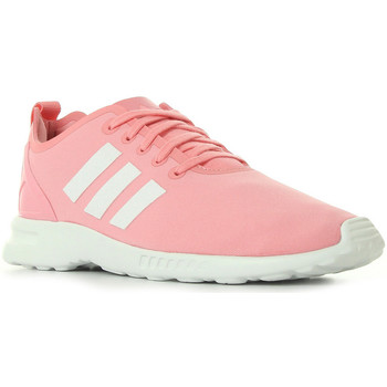 Chaussures Femme Baskets mode adidas Originals ZX Flux Smooth W rose