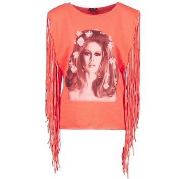 T-shirts & Polos Brigitte Bardot BB44075 Corail 350x350