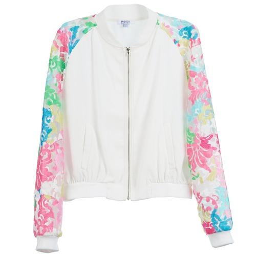 Vestes Brigitte Bardot BB44045 Blanc / Multicolore 350x350