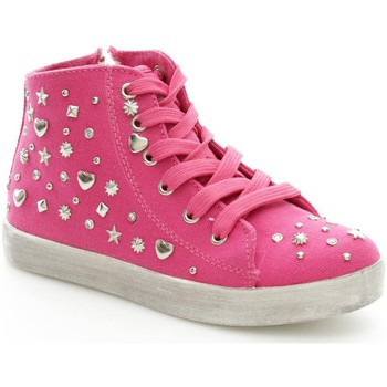 Chaussures Fille Baskets montantes Lelli Kelly 4252 Basket Fille Fuxia Fuxia