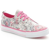 Chaussures Fille Baskets basses Lulu LuLù Fantasy Basket Fille rose