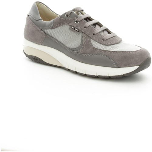 Geox U5234B2214 Basket Homme Grey/Anthracite Grey/Anthracite - Chaussures Baskets basses Homme