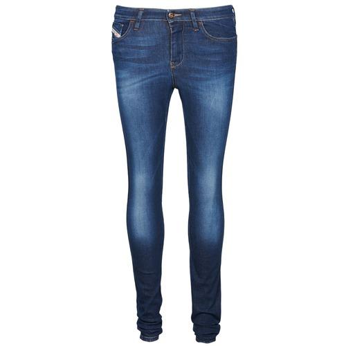 Vêtements Femme Jeans slim Diesel SKINZEE Bleu