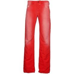 Vêtements Homme Jeans droit Diesel SAFADO Rouge