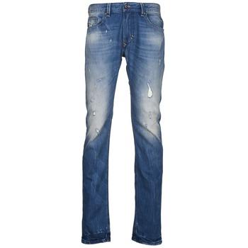 Vêtements Homme Jeans slim Diesel THAVAR Bleu