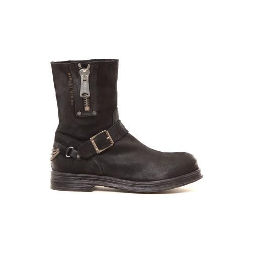 Chaussures Femme Bottines Replay Bottines en cuir Ecle noir Noir