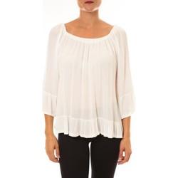Vêtements Femme Tops / Blouses Carla Conti Blouse Giulia blanc Blanc