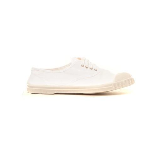 Chaussures Femme Baskets mode Bensimon Tennis à lacets blanc Blanc