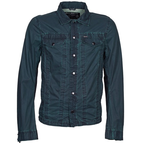 Vêtements Homme Vestes en jean Diesel J-XOCHILL Marine
