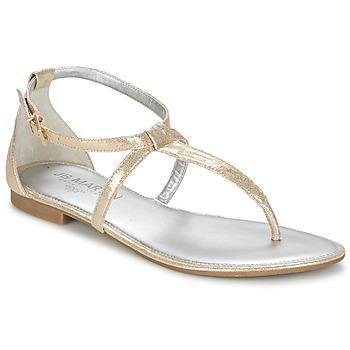Chaussures Femme Sandales et Nu-pieds JB Martin FAKIRI Platine