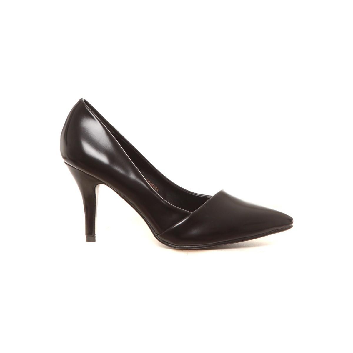 cassis c te d 39 azur escarpins gelica noir noir chaussures escarpins femme 15 95. Black Bedroom Furniture Sets. Home Design Ideas
