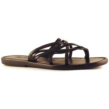 Chaussures Femme Sandales et Nu-pieds Gianluca - L'artigiano Del Cuoio 543 D NERO CUOIO nero