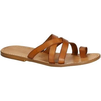 Chaussures Homme Sandales et Nu-pieds Gianluca - L'artigiano Del Cuoio 549 U CUOIO CUOIO Cuoio